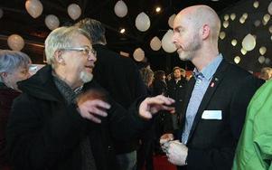 Falubon Bengt Gudmundsson undrade hur mycket av de 300 miljonerna som redan är finansierat. Foyto: Staffan Björklund