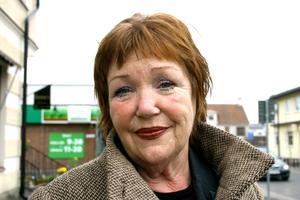 Berit Bekkhus står överst på Vänsterpartiets lista i kommunvalet i Lekeberg.