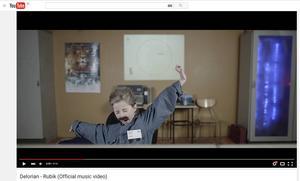 Ur Delorians musikvideo