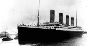 Titanic sjönk i april 1912 efter att ha kört på ett isberg. Foto: AP
