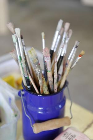 Kursen vänder sig både till nybörjare och mer vana målare.