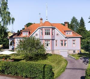 Villa Westholm, byggd 1903, av kände arkitekten Klas Boman.