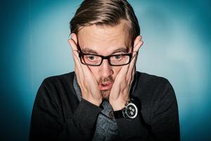 FAKTA: Pierre Engblom. 32 år. Bor i Falun. Intressen: Bil, flygplan och matlagning. Jobb: jurist.