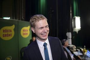 Utbildningsminister Gustav Fridolin (MP)   Har pryat som förskolelärare och är därför enligt han själv ett självskrivet val.
