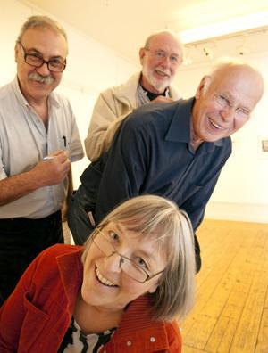 UTSTÄLLARNA. Galleri K:s Jordi Bota med Margareta Tideström Persson, Peter J. Kautzky och Ingemar Barr.