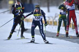 Anna Wikström, Mora, tvåa på både sprint och distans.