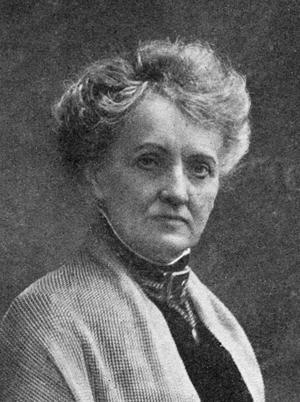Alfhild Agrell, född 1849 i Härnösand, död 1923 i Flen.