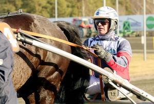 Hemmakusken Ulf Eriksson hade en lyckad dag på Bollnästravet.