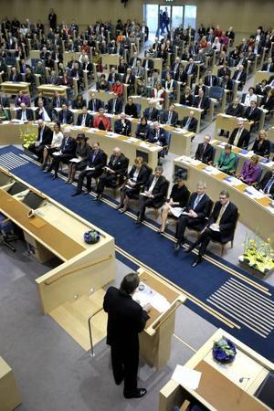 Respekten för yttrande- och tryckfrihet är inte självklar i Sveriges riksdag...