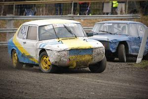 Andra deltävlingen av Sponsorcupen i folkrace och rallycross avgjordes i lördags.Arkivbild: Olof Sjödin