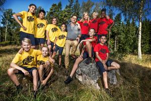 I augusti spelades Wild Kids in i Järvsö. Foto: SVT