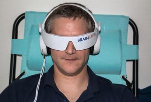 Avstressad. 10–23 minuter med Brain Tap kan få hjärnan i en bättre form.