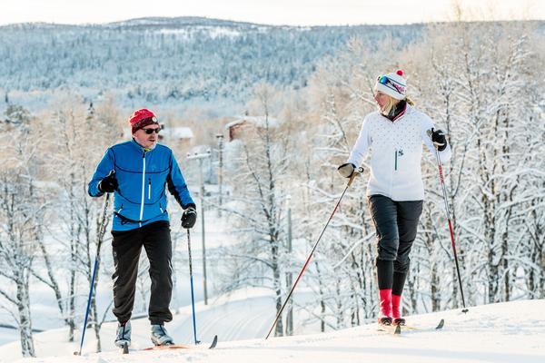 Mikaela Sundbaum gillar utveckling. Under lektionerna ger hon skideleverna verktyg till utveckling .