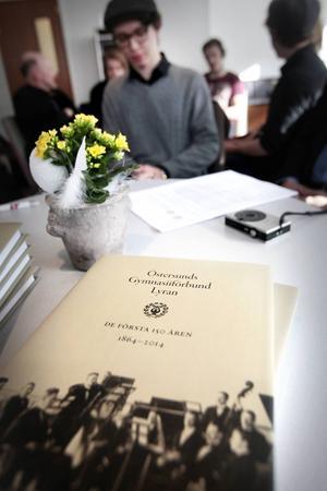 Gustav Enerlöv  - och boken.