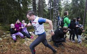 Ola Nyberg vann herrklassen på rekordtiden 11.50. Foto: Daniel Patiño Flor