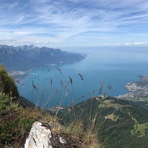 Vandring i Schweiz.