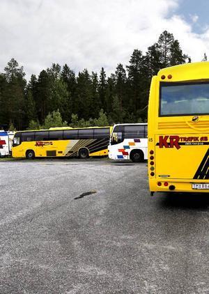 KR trafik har under Gunnar Sahléns ägande vuxit fram till en av de stora aktörerna på svensk bussmarknad och har nu närmare 300 fordon och en omsättning på nästan 500 miljoner kronor.
