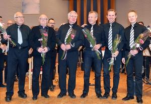 Jubileumsorkestern i aktion.