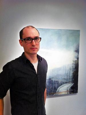Joseph Davey målar landskap som rör sig långt bort från traditionellt landskapsmåleri.