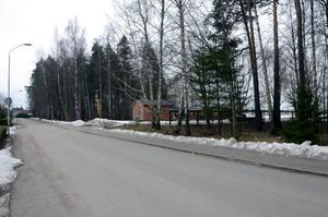 I ett medborgarförslag skriver elva hushåll längs med Villagatan att kommunen borde sätta upp permanenta farthinder på vägsträckan.Foto: Samuel Borg