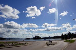 Ett cyelstråk från Ore parken till Ore Fritidsby planeras. Foto:Katarina Cham