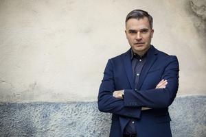 Jerker Virdborg efterlyste i våras mer dramatik och mindre lyrik i svenska romaner. Foto: Martin Stenmark