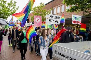 Söderhamns prideparad lockade närmare 3000 deltagare i maj.