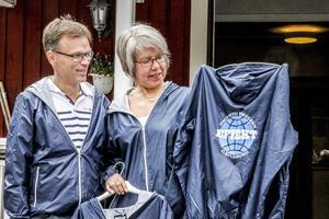 Pär Forsström och Britt-Marie Johansson hoppas att IOGT-NTO:s nya distriktskampanj ska ge effekt.