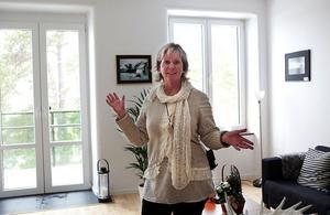 – Förutom själva lägenheterna är de gemensamma utrymmen viktiga i trygghetsboendet, säger Eva Svanbeck.
