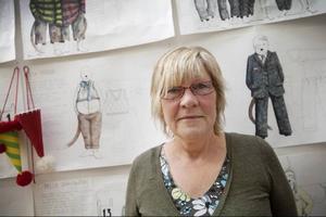 Carina Eriksson har arbetat som skräddare i bland annat London och Zürich. Nu jobbar hon i Östersund.
