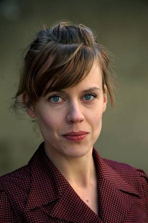 Annika Norlin  tilldelades 2008 års  Ulla Billquist-stipendium.Foto: Scanpix