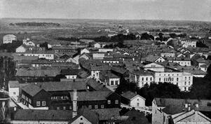 Utsikt från Nikolaikyrkan, november 1890.