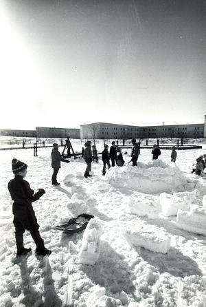 Bjurhovda i mars 1977.