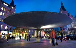 Här kring Stureplan i Stockholm ska inte Centerpartiets politik utformas, anser den tidigare centerväljaren Bengt Forsberg.