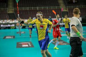 Galantes mål var ett av sju som tog Sverige till sin elfte raka VM-final.
