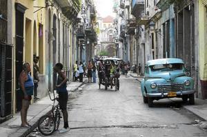 En bild från Havanna.