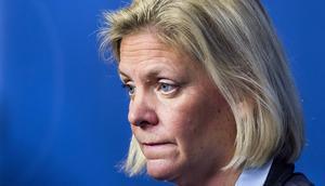 Finansminister Magdalena Andersson (S) har en del att tänka på.
