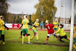 Ljusdal förlorade mot Alnö med 1–2.