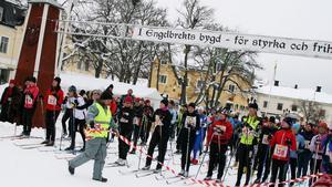Engelbrektsloppet kan bli ett varvlopp runt Håberget i år.