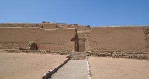 Nu har nya fynd påträffats i Inkastaden Pachacamac.