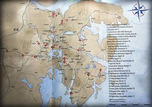 En karta kan vara bra att ha.