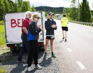 Ulf Åsen, Åsa Hammarström och Lars Hammarström.
