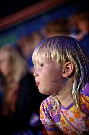 Amanda Eriksson från Aspeboda tyckte trapetsen var bäst.