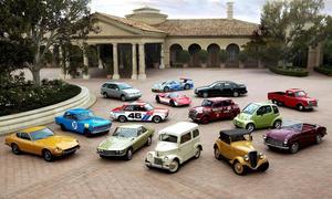 När Nissan fyllde 80 år i fjol visade man upp bilmodeller som producerats under åren. Det ger en bra bild över hela den japanska bilindustrins utveckling.