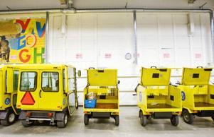 Sex fordon ska Posten spara in genom att organisera om verksamheten.