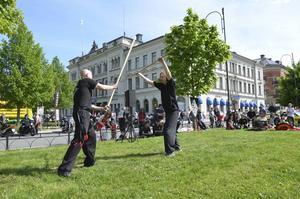 Sundsvalls Hung Gar Klubb visade upp sina färdigheter.