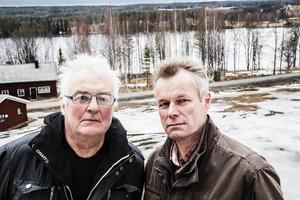 Per Ericsson och Sven Hellström är oroliga Litsbor.
