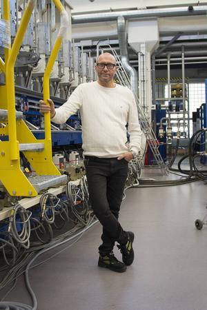 Patrick Chruzander jobbar inom industri – det mest typiska yrket för Sundsvallsbon.