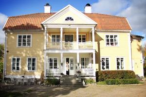 Huset i Röste utanför Bollnäs som Malin Arefjärd föll pladask för.