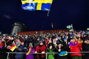 Totalt betalade 20 513 besökare in sig för att se skidskyttetävlingarna.